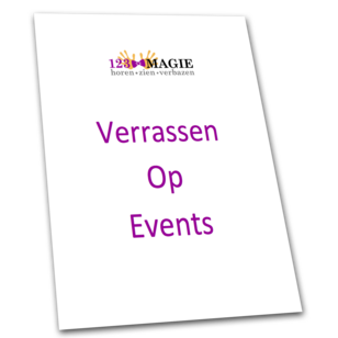 Voorkant brochure events